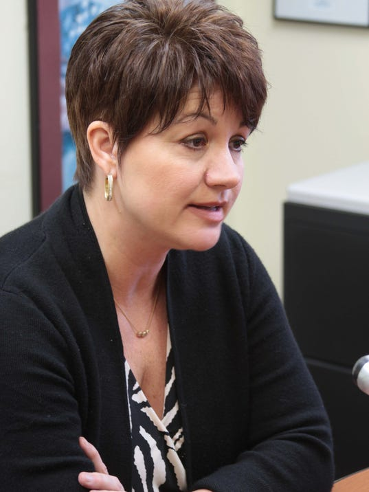 University of Louisiana System President Sandra Woodley