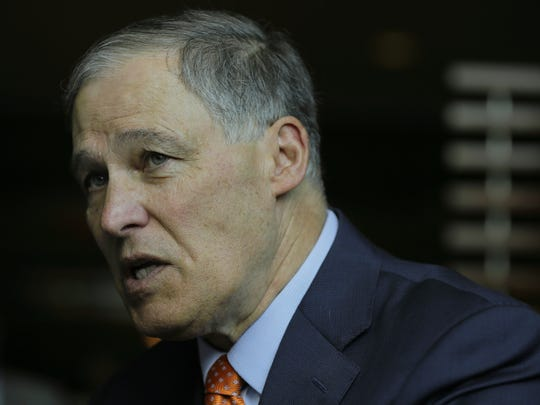 Jay Inslee, gobernador del estado de Washington.