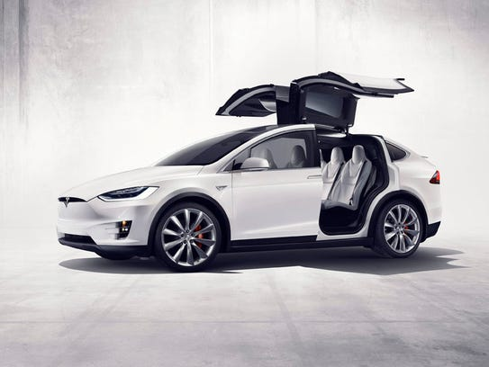 Tesla models X – The X SUV is on sale now, priced from
