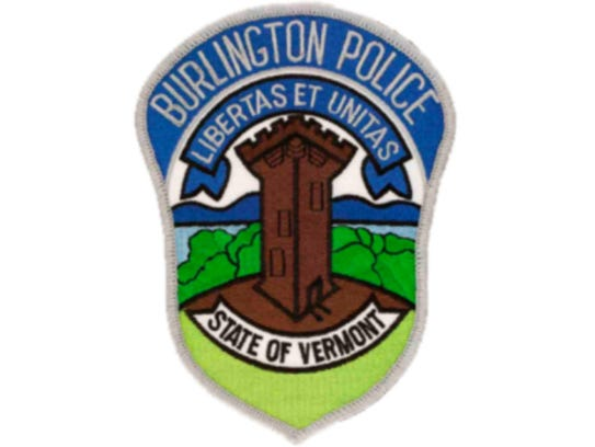 This patch was worn by Burlington police officers for