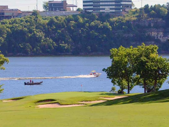 Porto Cima is on the banks of Lake of the Ozarks