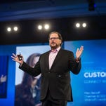 Salesforce's Marc Benioff makes sales pitch in first meeting with Trump