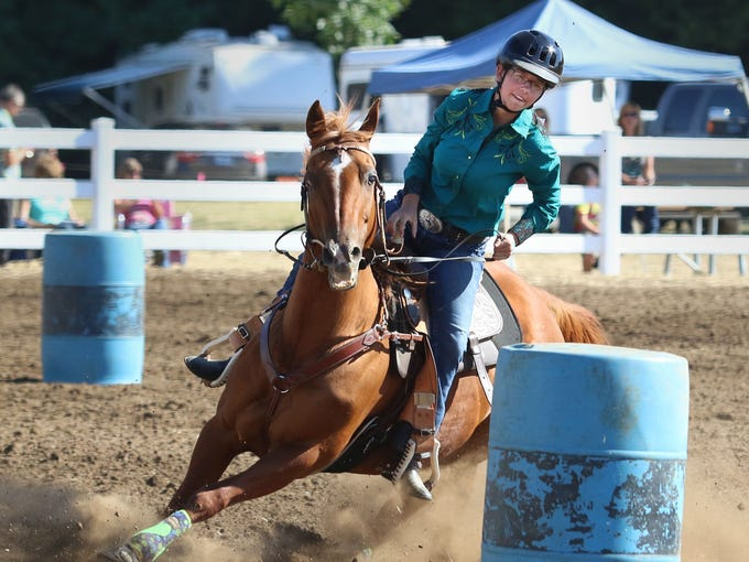 Catch the Rough Stock Rodeo featuring bareback riding,