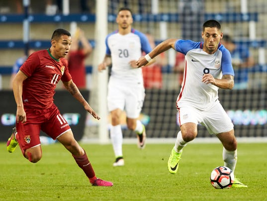 Soccer: International Friendly Men's Soccer-Bolivia at USA