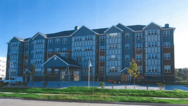 An example of Northpointe Development's four story senior housing development. The company proposed building a development near the Centralia Center in Wisconsin Rapids.