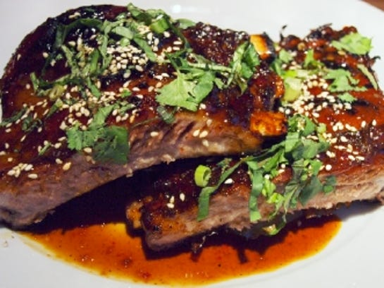 Thai ribs from Zea.