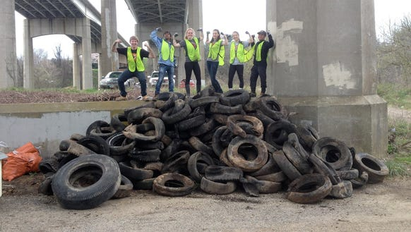 In March, volunteers from Virginia Tech worked with