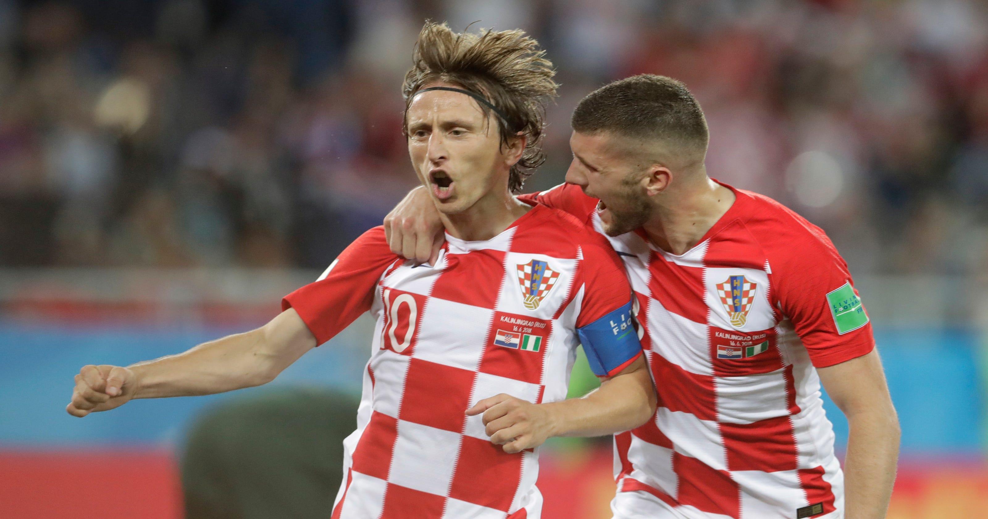 The Latest  Croatia beats Nigeria on own-goal 82d2c089e
