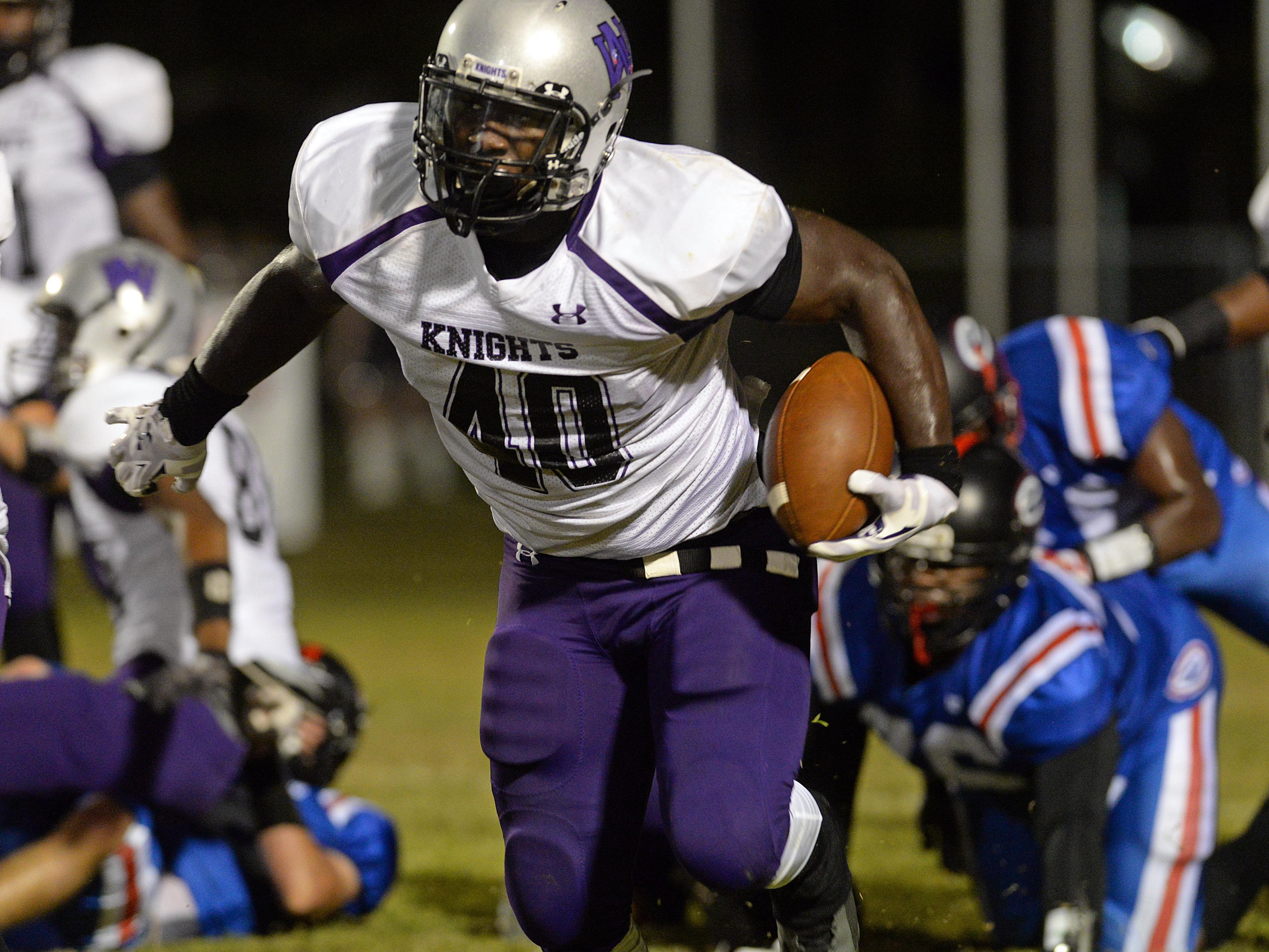 North Webster's Devin White was arrested on carnal knowledge of a juvenile charges.