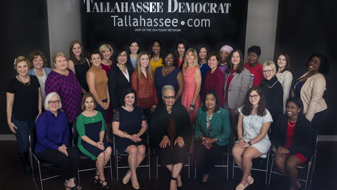 The 2017 class of the 25 Women You Need to Know met for a photo shoot in the lobby of the Tallahassee Democrat. Now is the time to nominate a special woman for the 2018 class of 25 Women You Need to Know.