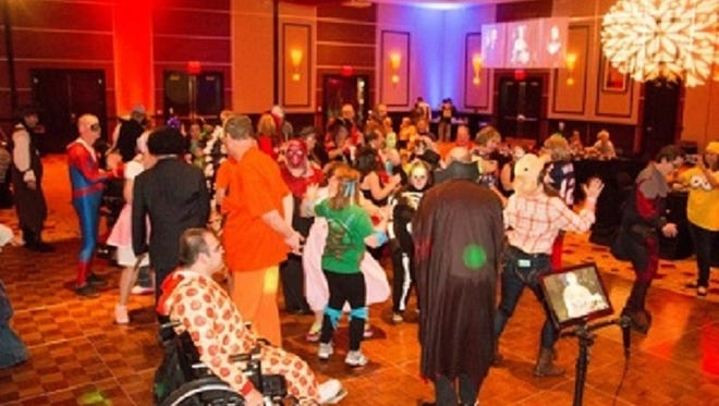 """On November 1, 2015, Desert Friends of the Developmentally Disabled hosted """"A Halloween Dance Party"""" benefiting We Care Dental and all developmentally disabled children and adults 14 years and older. The party was held at the Agua Caliente Casino Resort & Spa in Rancho Mirage and was only the first of many social activities planned for this local, special needs population."""