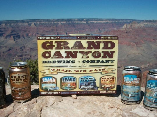Experiencing rapid growth, Grand Canyon Brewing Company in Williams is one of Arizona's most widely distributed beers.