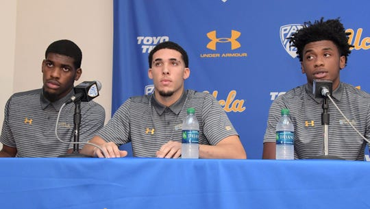 UCLA players arrested in China thank Donald Trump for his assistance