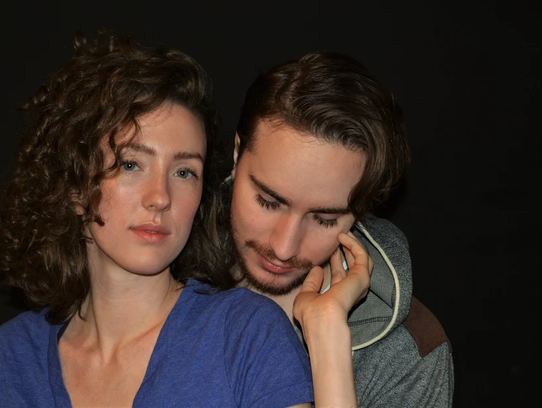 Kendall Millang and Steven Coe star in Lab Theater's