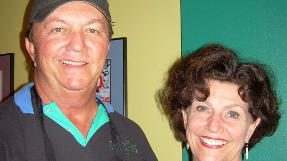 Gary Roy and Marilynn Adams, owners of 2Paul's Radically Urban Barbeque, are pictured in this 2008 Advertiser file photo.
