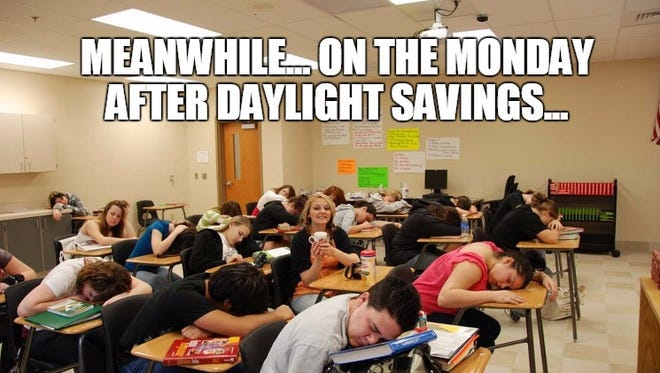 Happy Monday after Daylight Savings everyone!