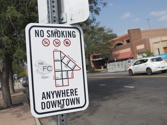 Signage on Remington Street displays the boundaries
