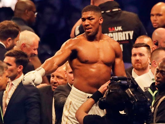 2018-01-14-Anthony Joshua-unification-fight