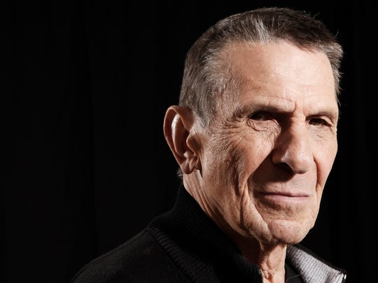 "FILE - In this April 26, 2009 file photo, actor Leonard Nimoy poses for a portrait in Beverly Hills, Calif. Nimoy, famous for playing Mr. Spock in the ""Star Trek"" television series and movies, died Friday, Feb. 27, 2015 of end-stage chronic obstructive pulmonary disease. He was 83. (AP Photo/Matt Sayles, File)"