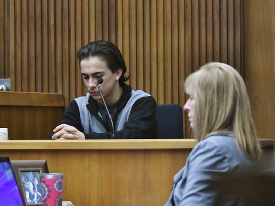 Eddie Perez took the stand Monday. Perez is a witness in the trial against Chaylin Funez.
