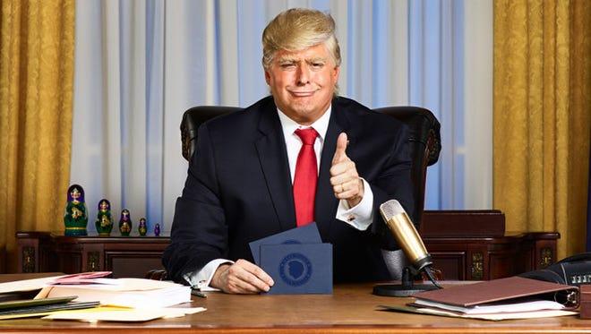 Anthony Atamanuik as President Trump.