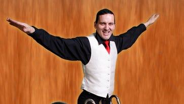 Career of acrobat in Abilene this weekend comes full Circo