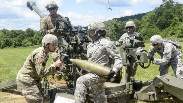 Fort Indiantown Gap hosts artillery training for Soldiers from the Pennsylvania National Guard and across the nation June 26, 2017. Fort Indiantown Gap is the only live-fire, maneuver military training facility in Pennsylvania, offering more than 17,000 acres and 140 training areas and facilities for year-round training. It annually supports 20,000 Pennsylvania National Guard personnel and more than 120,000 additional personnel from other branches of service, interagency partners at the federal, state and local level and multinational partners.