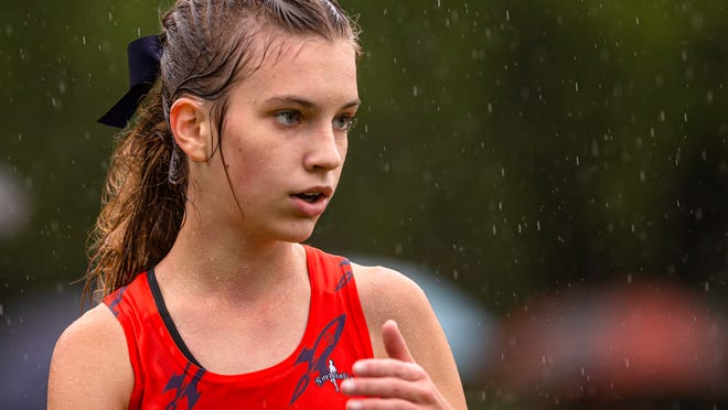 Rochester High School's Colleen Zeibert is The State Journal-Register's Large School Girls Cross Country Runner of the Year. [JUSTIN L. FOWLER/THE STATE JOURNAL-REGISTER]