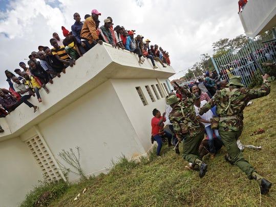 APTOPIX Kenya Elections