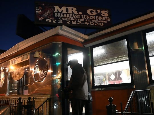Russell Graddy arrives at his restaurant, Mr. G's in Paterson, at 6:30 a.m. to open for breakfast. Graddy once controlled a small real estate and restaurant empire, but sold most of it to finance a long legal battle with NJ Transit, which he says wrongfully forced one of his restaurants from the Atlantic City bus terminal in 2004.