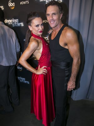 """Season 22 of """"Dancing With the Stars"""" features retired NFL football player Doug Flutie of Melbourne Beach, who is partnered with Karina Smirnoff."""