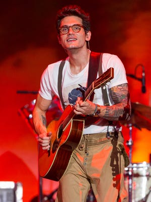 John Mayer performs during the Made In America Festival  in Los Angeles on Aug. 31, 2014.