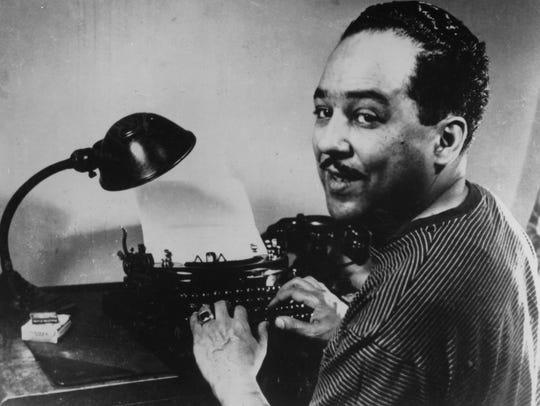 Poet Langston Hughes.