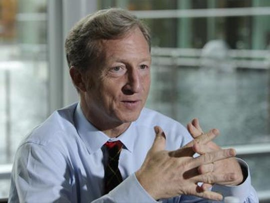 Billionaire activist Tom Steyer is joining the fight to overturn a 2017 rate hike for APS that has drawn complaints from thousands of customers.