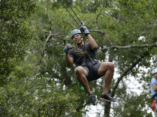 Adventures Unlimited in Santa Rosa County has added new lodging to its already popular zip lines and other activities.