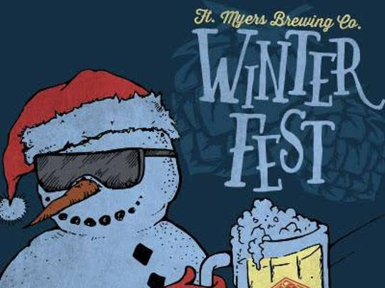 Fort Myers Brewing Co.'s WinterFest is Saturday.