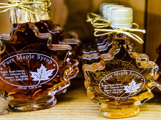 The Maple Syrup Festival will take place on Saturday.