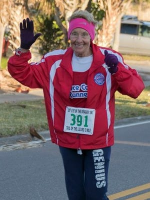 Mary Ramba, 70, has used running to overcome bad habits, which has led to good health.