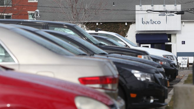 Much of Port Chester's downtown parking is concentrated in the 220-space marina lot on Abendroth Avenue in front of the Bartaco restaurant — because the lot is free and conveniently located, officials said.