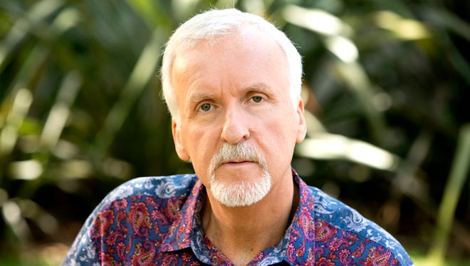 """Director James Cameron (""""Titanic,"""" 'Avatar"""") at his compound in Malibu. His latest film, """"Deepsea Challenge 3D,"""" opens Friday August 8th."""
