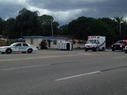 Deputies and emergency personnel are investigating a fatal crash on North Tamiami Trail.