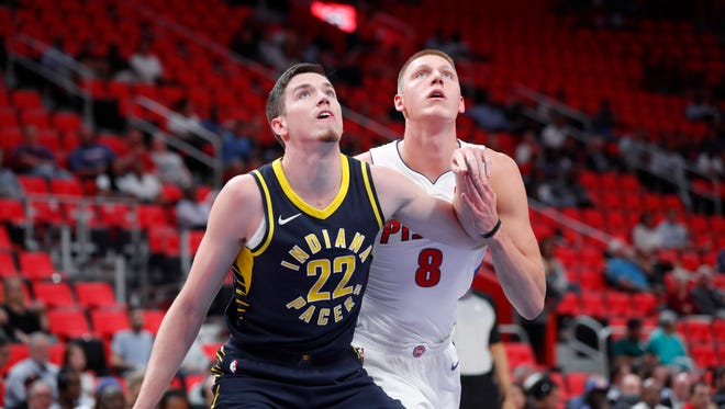 T.J. Leaf is still a project for Pacers.