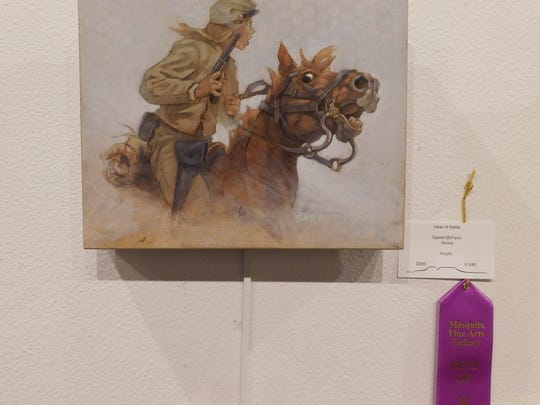 Garret McFann of Illinois won Best of Show in the Virgin