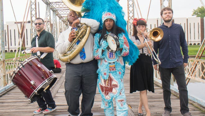 Mardi Gras Indian funk band Cha Wa will perform on July 28 at the Artown festival in Reno.