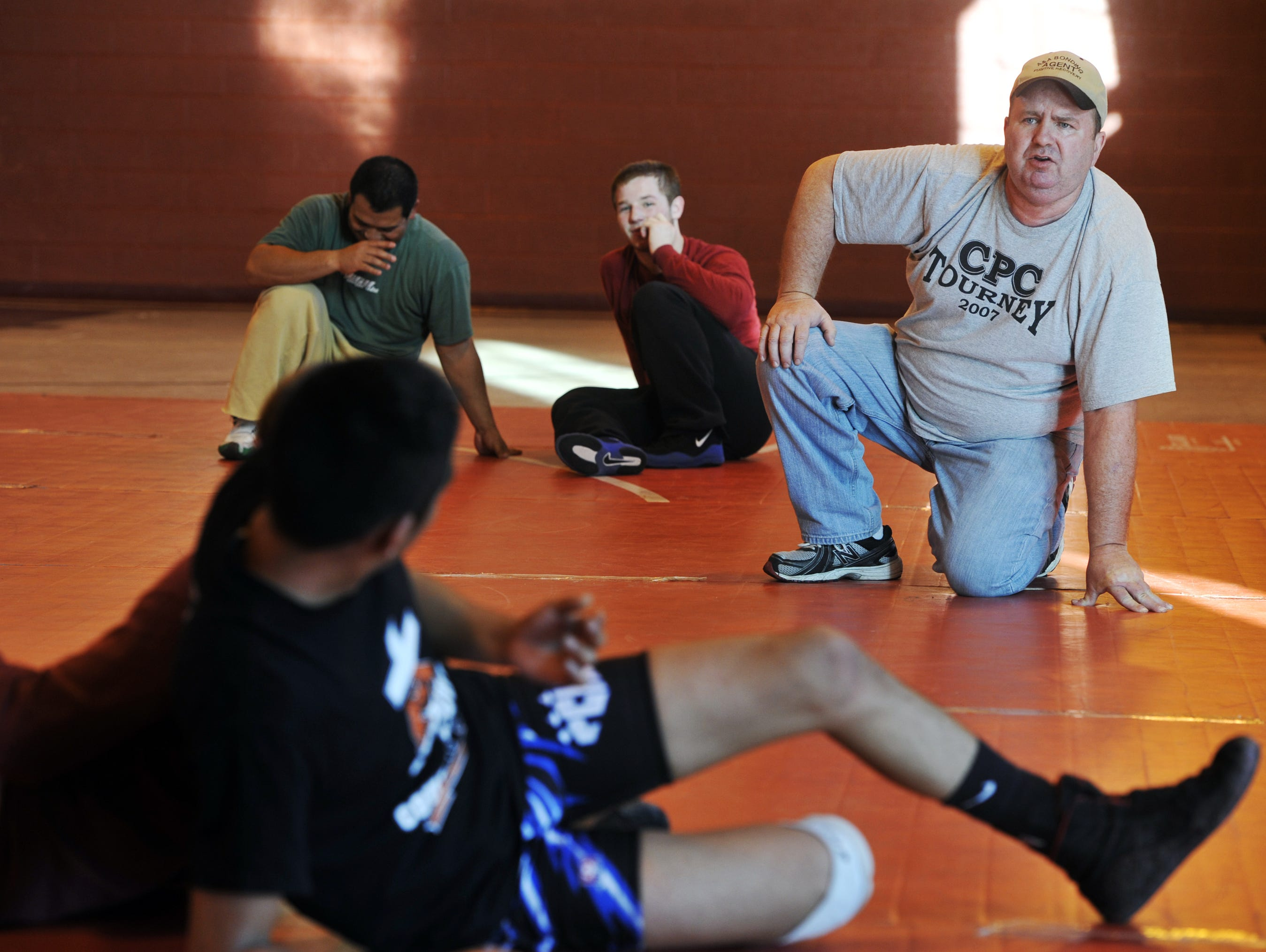 Norman Osteen has headed up Western North Carolina's Strong and Courageous wrestling club since 1989..