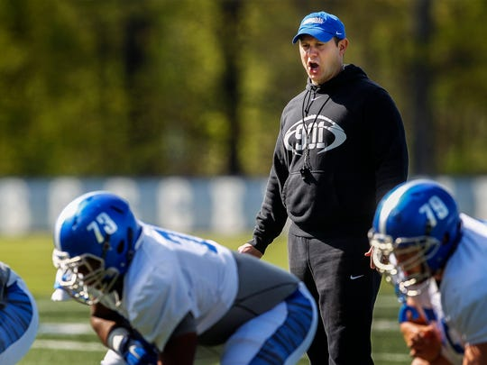 """Competition, competition, competition — that's the biggest thing for us,"" said University of Memphis offensive line coach Ryan Silverfield. ""We have good size in the offensive line room already, right now. We have a very talented offensive line group already. But we were able to bring in size that we may not necessarily have at every position, or in every class."""