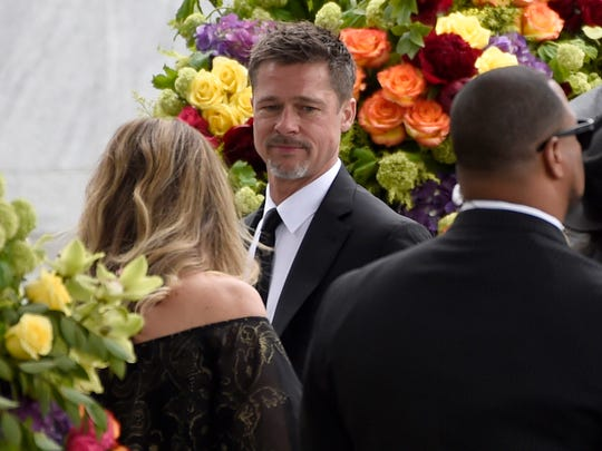 Brad Pitt was one of the actors spotted at Cornell's