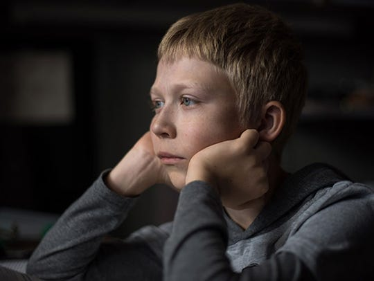 A boy's parents' bitter feuding has repercussions in