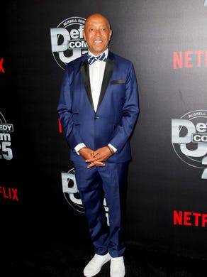 Music mogul Russell Simmons is accused of assault by