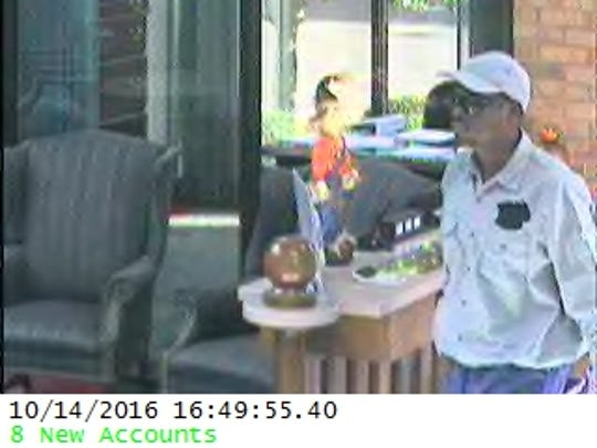 Tallahassee Police are looking for a man they say robbed a north side bank late Friday afternoon.